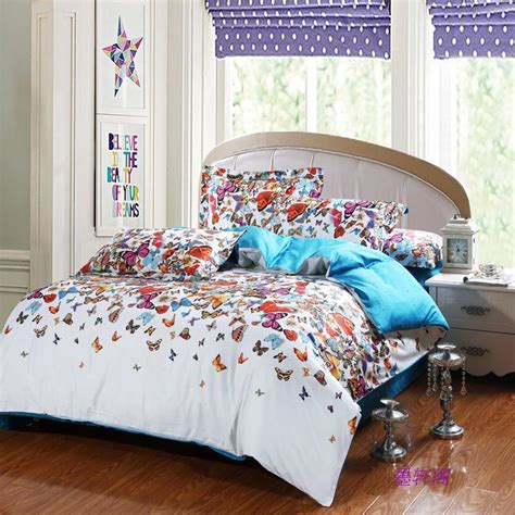 shop popular butterfly comforter set from china aliexpress