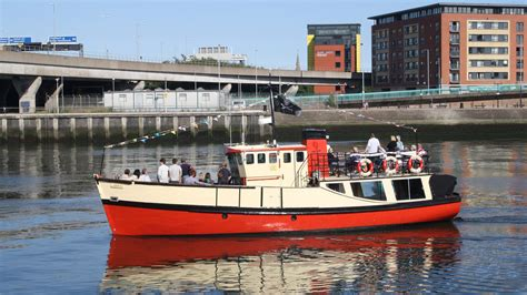 Titanic Boat Tours by Titanic Boat Tours Lagan Boat Company Visit Belfast