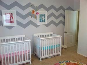Kinderzimmer Für Zwillinge : boy girl twin nursery bright and cheerful my twinners pinterest baby zwillinge und kinder ~ Markanthonyermac.com Haus und Dekorationen