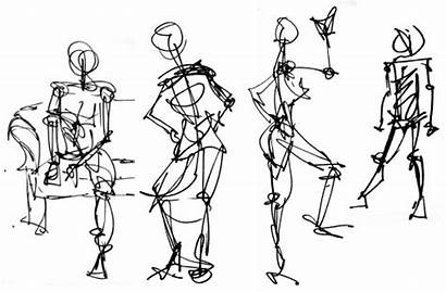 Gesture Drawing Figure Draw Drawings Lessons Standing