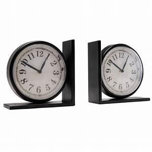 Serre Maison Du Monde : 2 horloges serre livres larry maisons du monde ~ Premium-room.com Idées de Décoration