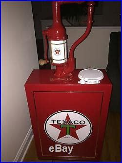 vintage texaco oil lubester gas pump texaco gas pump