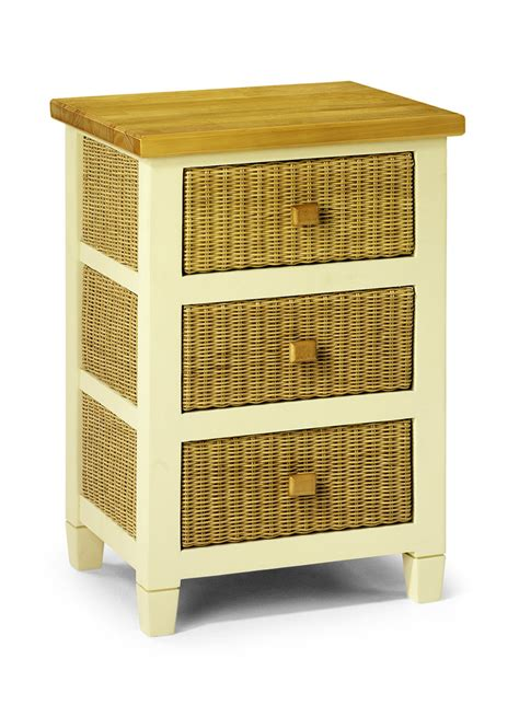 wicker kitchen furniture painted kitchen furniture 3 drawer storage unit