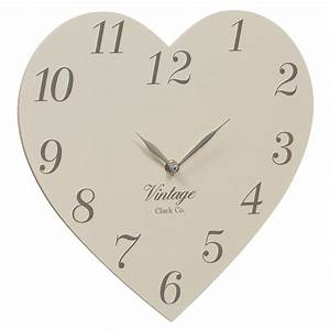 B&M Vintage Clock Co Heart Clock - 274858 B&M