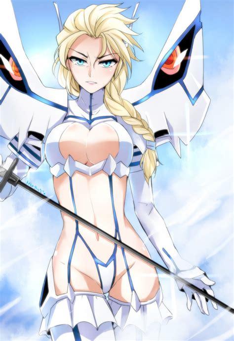 crunchyroll fan artists impress with kill la kill meets western animation mash ups