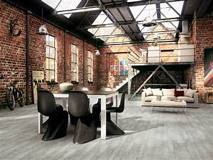 Rustic Design Ideas For Living Rooms, Industrial Warehouse ...