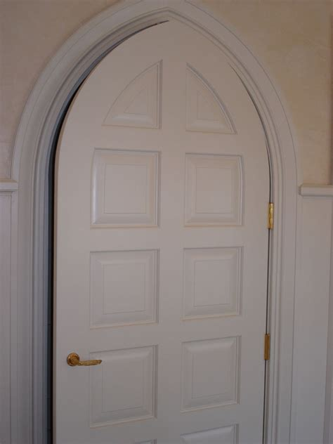 hand  gothic style door  pegg whitney woodworks llc