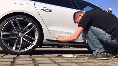 Audi Accessories by Audi Genuine Accessories Quattro Decals