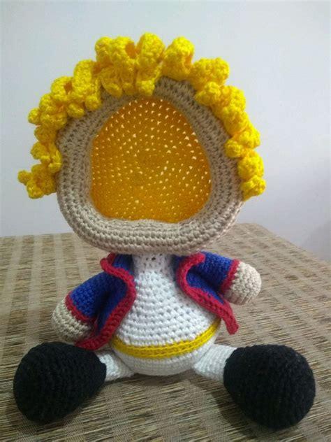 Porta retrato amigurumi Pequeno Príncipe no Elo7 Líla