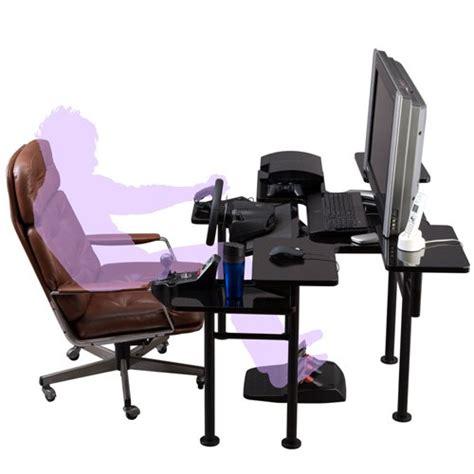 le bureau articul馥 roccaforte le bureau ultime du gamer gamerstuff fr