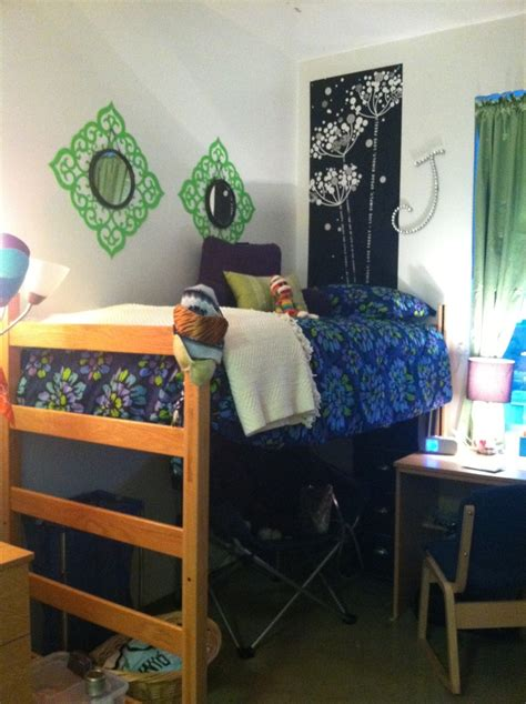 Cute Dorm Room Set  Collegedorm Life Pinterest