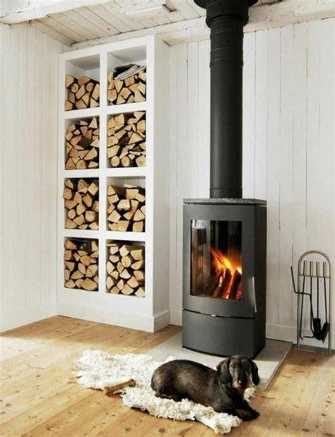 Regal Für Kaminholz by Brennholzlagerung Zu Hause Stilvolle Und Originelle