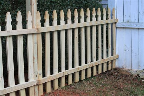 awesome wooden picket fence panels design ideas