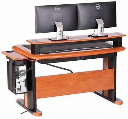 Shelf Riser Desktop Desk Wood Holder Outside