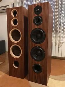 Diy, Floor, Standing, Speakers, -, Dual, Woofer