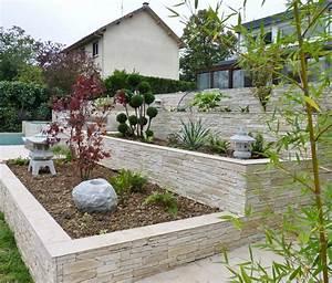 Decoration Jardin Pierre : pierre jardin decoration amenagement exterieur cailloux horenove ~ Dode.kayakingforconservation.com Idées de Décoration