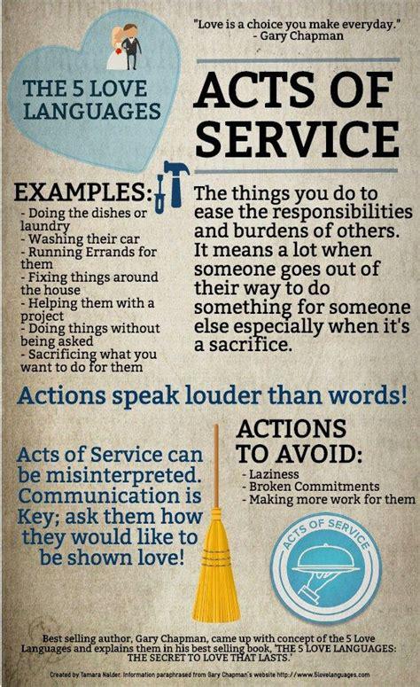 whats  love language acts  service part