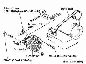 2003 Mazda 626 Alternator Belt Burned Off  What Is Most