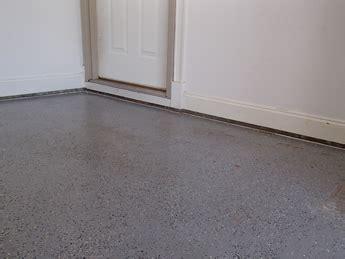 Sinking & Settling Concrete Floor Slab Repair In