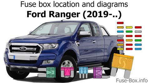Fuse Box Location Diagrams Ford Ranger