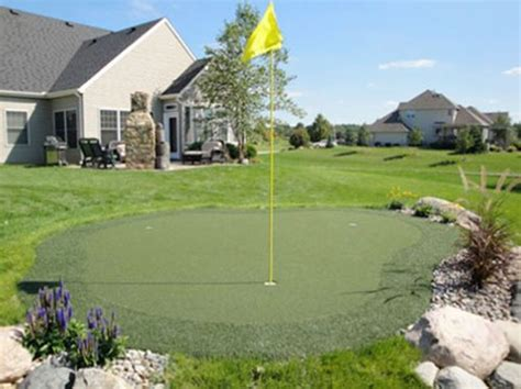 Backyard Putting Green Supplies by Putting Green Kits Landscaping Network
