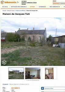 Leboncoin Toute La France : jacques tati sa maison en vente sur france ~ Maxctalentgroup.com Avis de Voitures