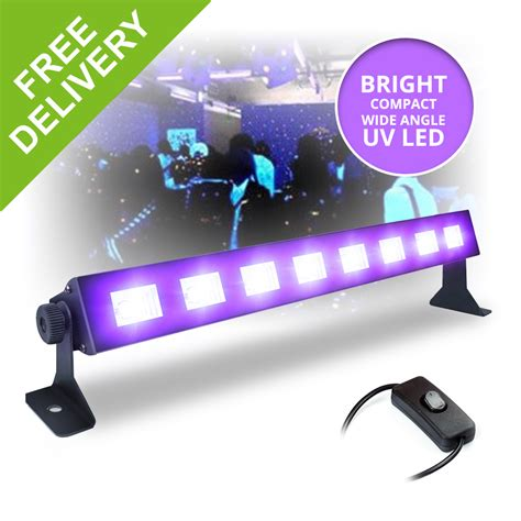 led bar black light uv ultraviolet lighting