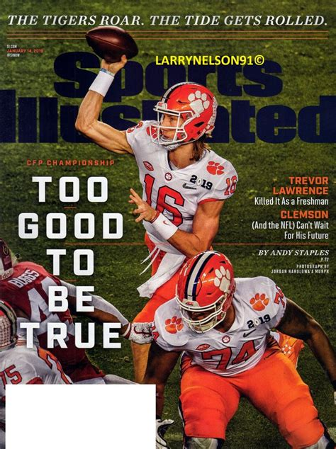 27+ Sports Illustrated Trevor Lawrence  Pictures