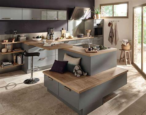 cuisine et ilot central charmant modele de cuisine avec ilot central et modele