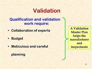 ppt 3 validation and qualification powerpoint