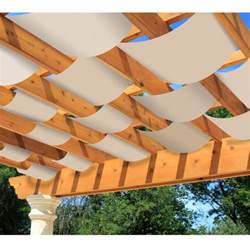 Patio Umbrella With Netting by Diy Decorative Pergola Shade Canopy Garden Winds