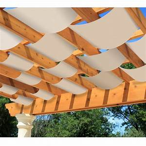 Diy decorative pergola shade canopy garden winds for Decorative pergola shade canopy