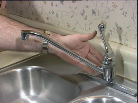 repair leaking kitchen faucet repairing a kitchen faucet how tos diy