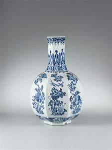 Grand Vase Blanc : grand vase en porcelaine bleu blanc dynastie qing marque qianlong alain r truong ~ Preciouscoupons.com Idées de Décoration