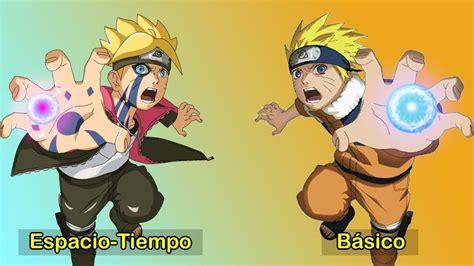 Rasengan De Naruto Uzumaki Vs Rasengan De Boruto Uzumaki