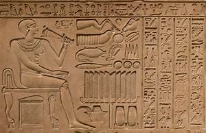 Framed Print - Egyptian Hieroglyphic from Great Giza