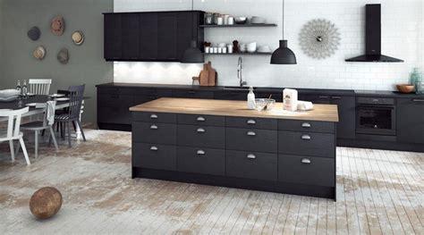 credence cuisine noir et blanc cuisine 28 idées de design contemporain formidable
