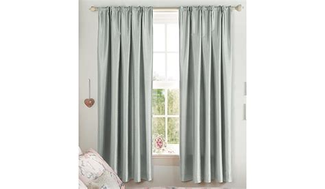 George Home Silver Faux Silk Pencil Pleat Curtains Short Red Bedroom Curtains Pictures Of Windows With And Blinds Bay Window Curtain Rods Canadian Tire What Color Burnt Orange Walls Wall Residential Yellow Check Fabric Rooms Blue Is The Right Height To Hang A Shower