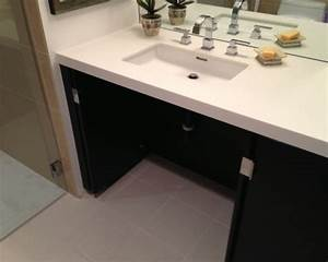 handicap accessible vanity home design ideas pictures With wheelchair accessible bathroom sinks
