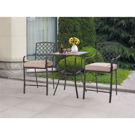 Bistro Patio Furniture by Best Choice Products Cast Aluminum Patio Bistro Furniture