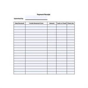 Free Printable Payment Receipt Templates