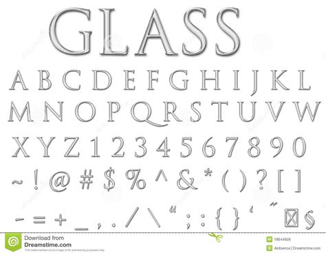 letters that start with z glass letters stock illustration illustration of letters 3343