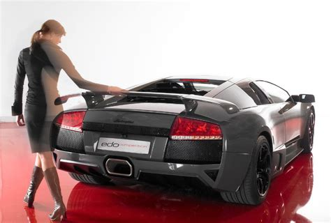 supercar hot girls lamborghini edo car modification