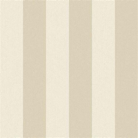Graham & Brown Evita Water Silk Stripe Ivory/Taupe