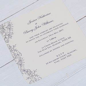 Vintage lace wedding invitations wedding stationery one for Wedding invitation packages vistaprint