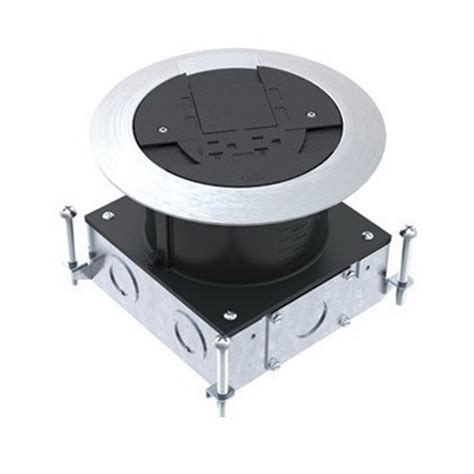 wiremold walker rpsfb ratchet pro round concrete floor