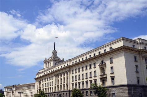 siege du parlement sofia bulgarie largo construisant siège du parlement