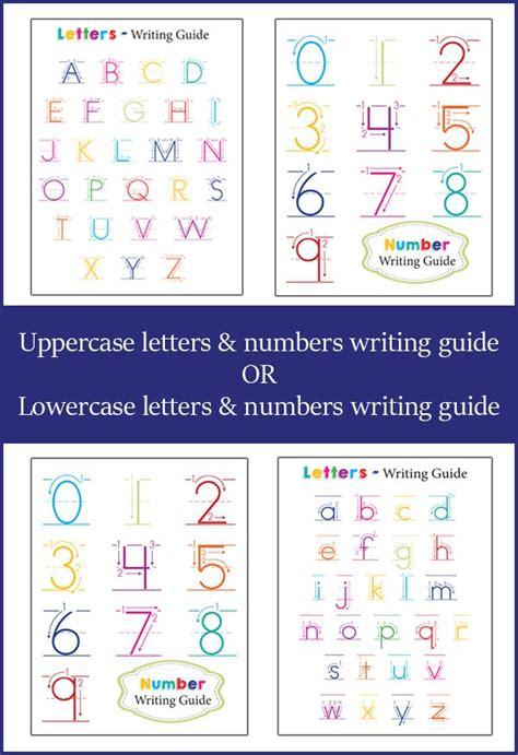 letter  number guide  preschoolers mfw