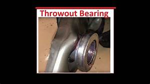 How To Install The Throwout Bearing    Release Bearing Install Ford Mustang