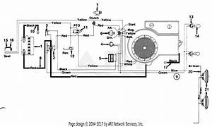Mtd Ranch King Mdl 130 843243 Parts Diagram For Electrical